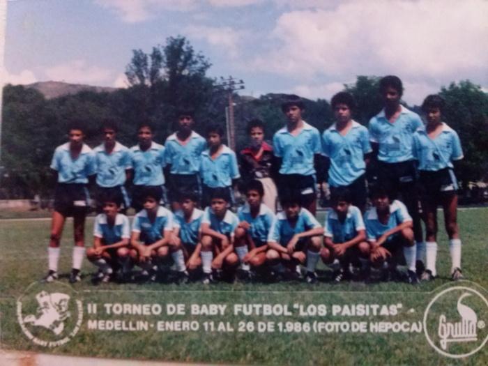Campeón Pony Fútbol 1986 - Santa Lucía