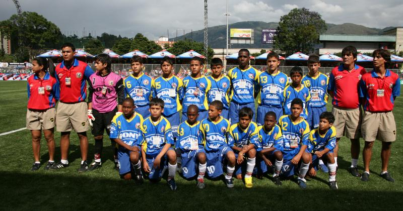 Jugadores del Ponyfútbol en Selección Colombia Sub 20