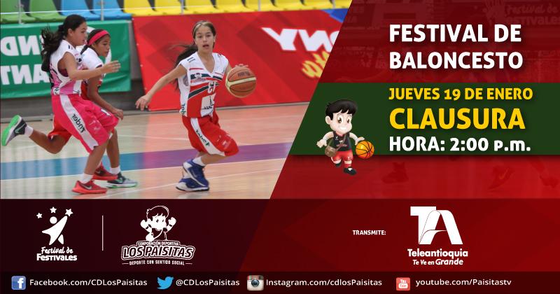 Hoy la gran final de Festival de Baloncesto