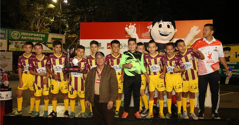 Con todas las emociones, culminó el Festival de Fútbol de Salón 2017