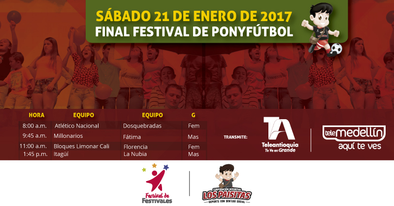 No te pierdas ni un minuto de la Final del Festival de Ponyfútbol