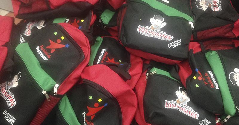 Continúan las entregas de los paquetes escolares 2017