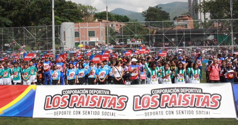 En occidente de Medellín inició el Festival de Fútbol Ponyfútbol