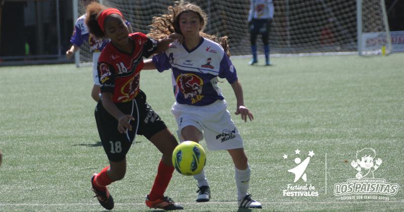Programación oficial Ponyfútbol Femenino Antioquia 2017