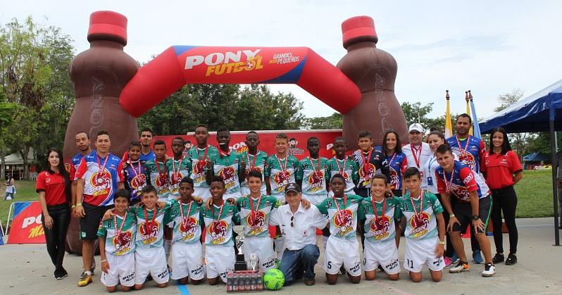 Valle del Cauca ya tiene su representante a la Final Internacional del Ponyfútbol