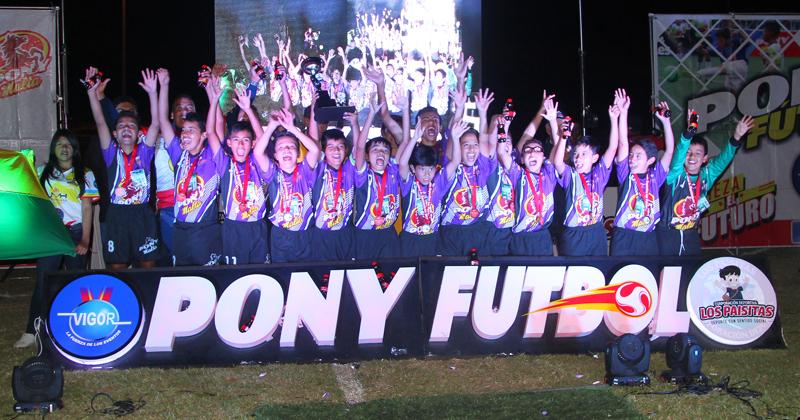 Municipio de Chía se quedó con el cupo a la Final Internacional de Ponyfútbol