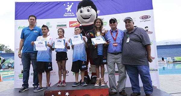 Se despide el Festival de Natación Inder Alcaldía de Medellín 2018