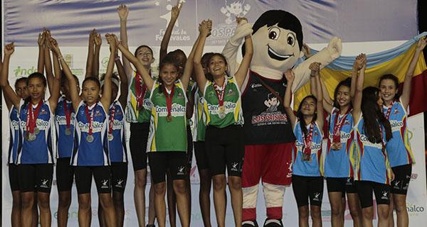 Los Atletas terminaron con gloria su Festival