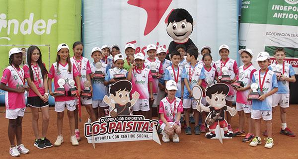 Con dobletes, concluyó el Festival de Tenis de Campo Inder Alcaldía de Medellín 2018