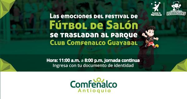 Fútbol de salón se traslada a la sede Club Comfenalco Guayabal