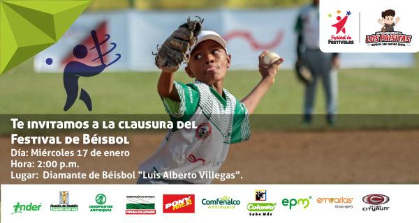 Paisas y costeños por la versión 9 del Festival de Béisbol