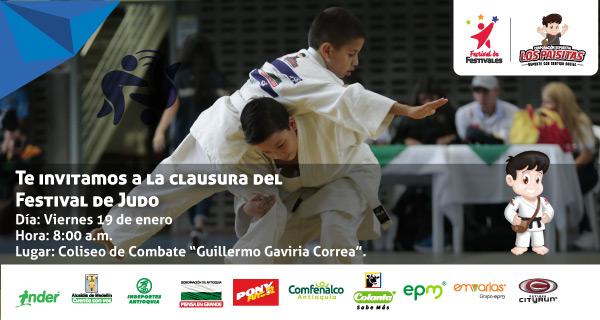 Judokas hacen su última presentación en el Festival de Festivales