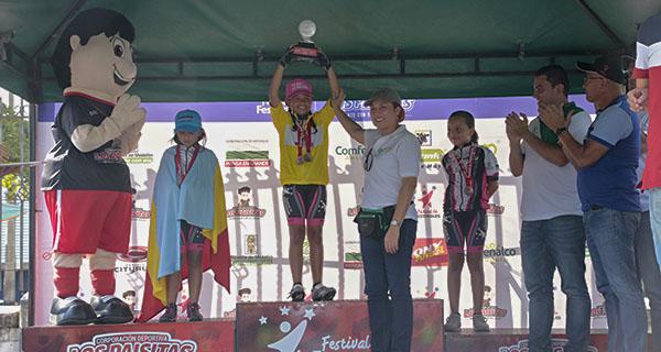 Terminó el Festival de Ciclismo EPM