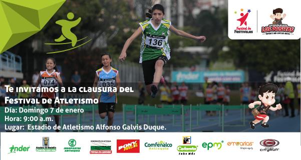 Atletismo el primero en despedirse del Festival de Festivales