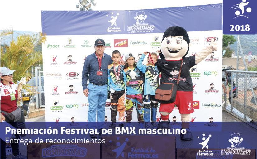 Campeones del Festival BMX 2018