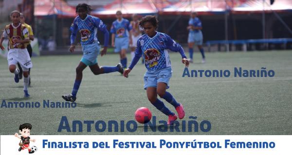 Finalista Ponyfútbol femenino Barrio Antonio Nariño