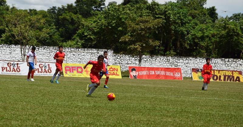 En Tolima también comenzó el Babyfútbol 2018-2019