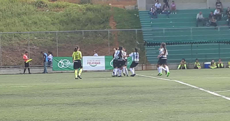 Avanza la eliminatoria del Babyfútbol Femenino en Girardota