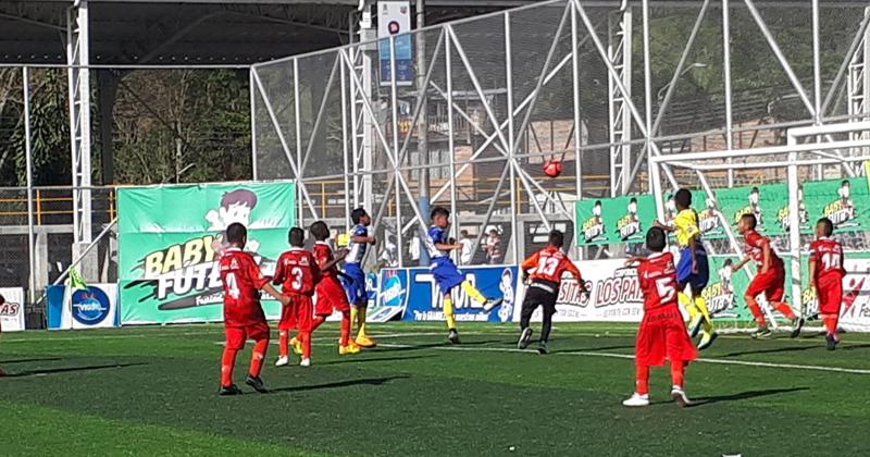 El Zonal Babyfútbol de Suroccidente de Colombia tiene los clasificados a cuartos
