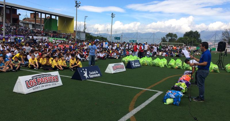 En Granizal se vivirá la primera fecha del Babyfútbol de Medellín