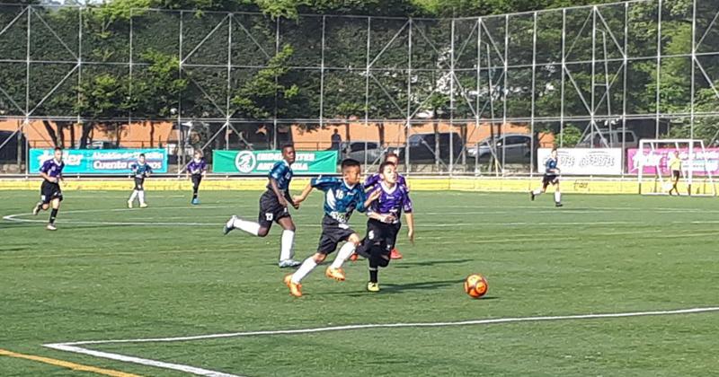 Sexta fecha del Preselectivo Babyfútbol de Medellín, se tomó la margen occidental de la ciudad