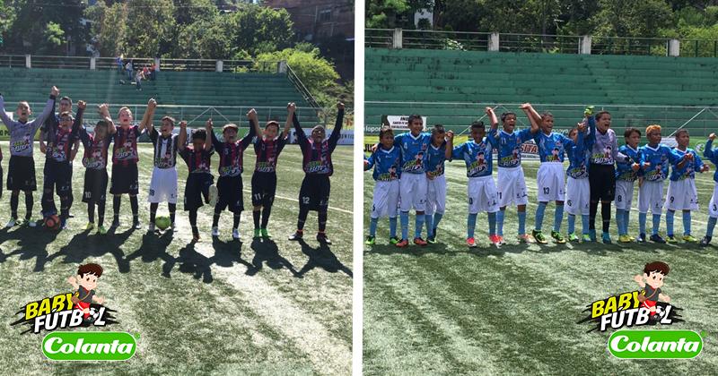 Definidos los finalistas del Zonal Babyfútbol Colanta del Occidente de Antioquia