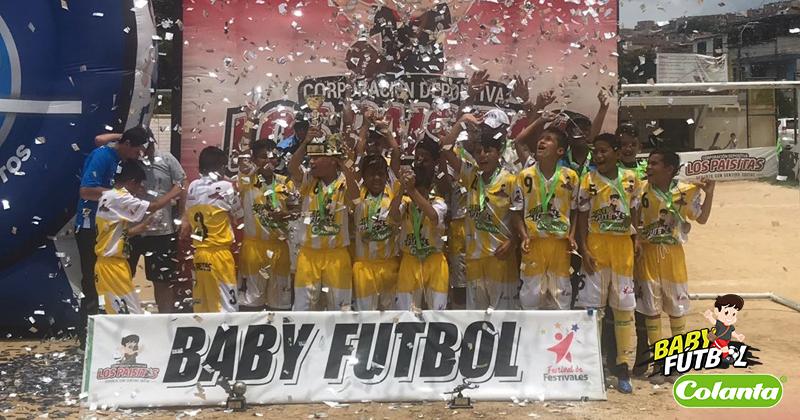 Barrio San Eduardo II Etapa de Cúcuta fue el ganador del Zonal Babyfútbol Colanta del Oriente de Colombia