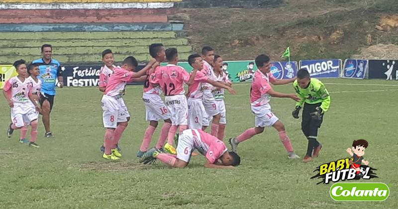 Definidos los semifinalistas del Zonal Babyfútbol Colanta del Centro de Colombia