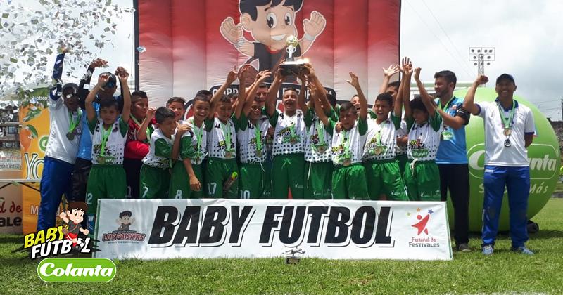 Galicia Alta de Pereira, ganador del Zonal Babyfútbol Colanta del Centro de Colombia