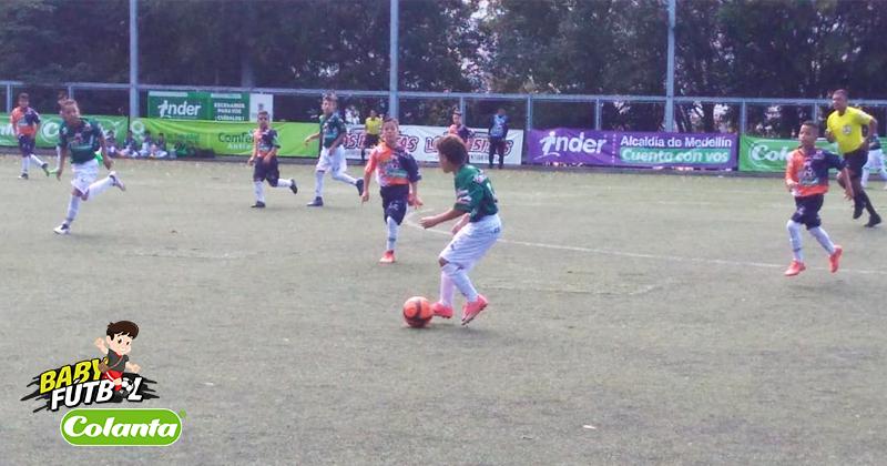 Fecha 12 del Preselectivo Babyfútbol Colanta en Medellín dejó varios clasificados