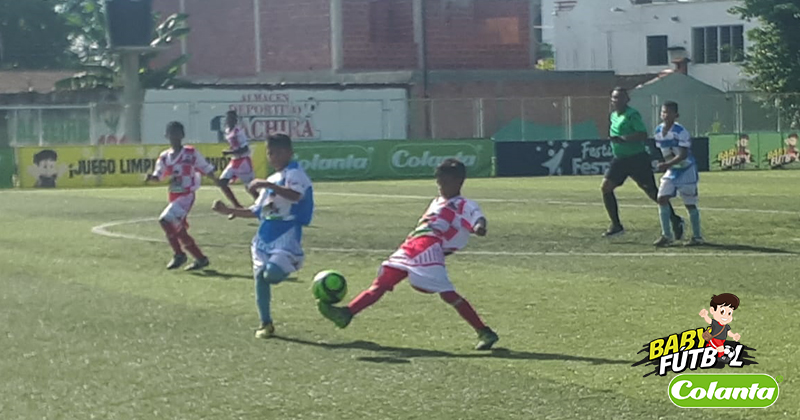 Definidos los cuartos de final del Zonal Babyfútbol Colanta del Centro Oriente de Colombia