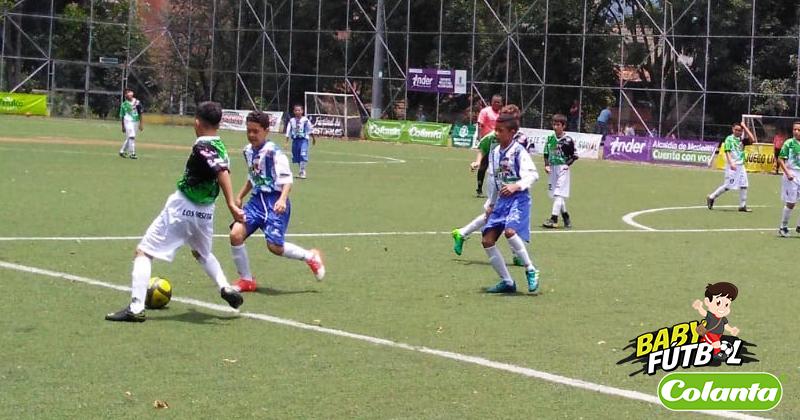 Definidos los grupos F, G, H e I, en el Preselectivo Medellín del Babyfútbol Colanta