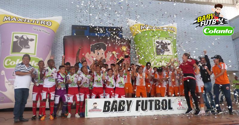 Municipio de Palmira, el invitado por el Valle a la Final Internacional del Babyfútbol Colanta