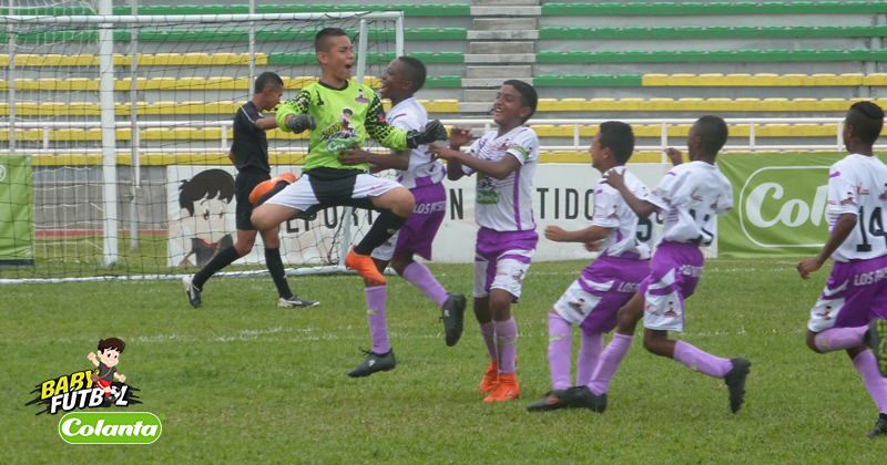 Definidas las semifinales del Zonal Babyfútbol Colanta del Valle del Cauca