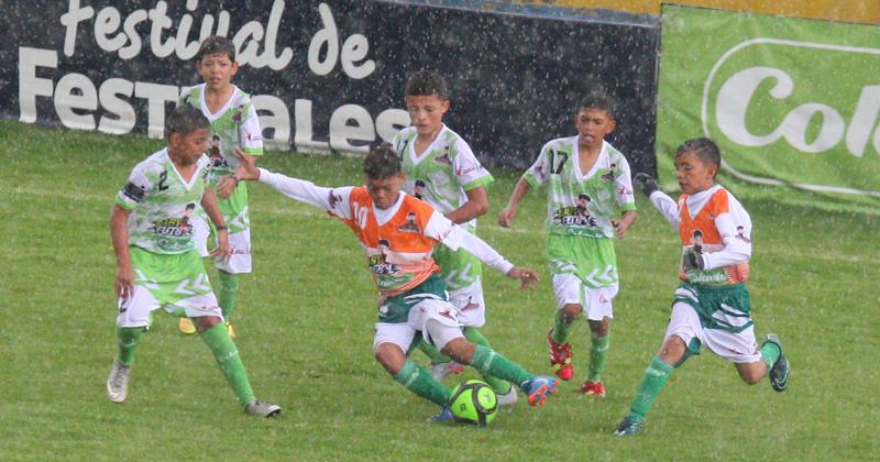 Grupos A, B y C, definidos en el Zonal Babyfútbol Colanta de Cundinamarca