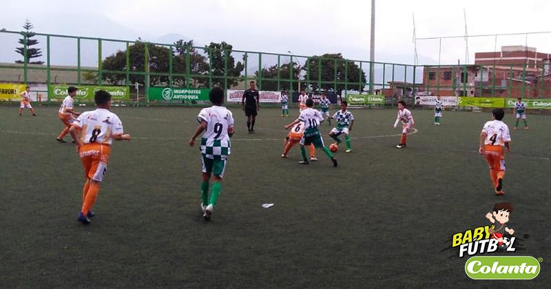 Barrio San José de Envigado y Barrio Callelarga de Sabaneta Lideran el Selectivo Babyfútbol Colanta del Valle de Aburrá