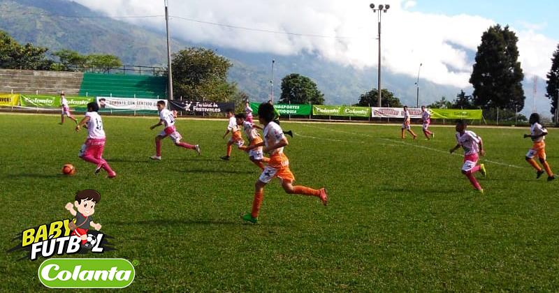 Definidos los Selectivos del Babyfútbol Colanta en Medellín y el Valle de Aburrá