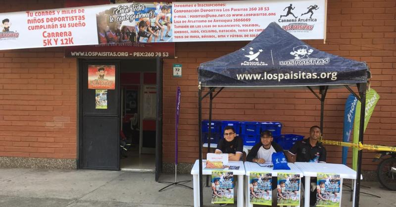 Recorrido oficial Carrera Atlética Corporación Deportiva Los Paisitas