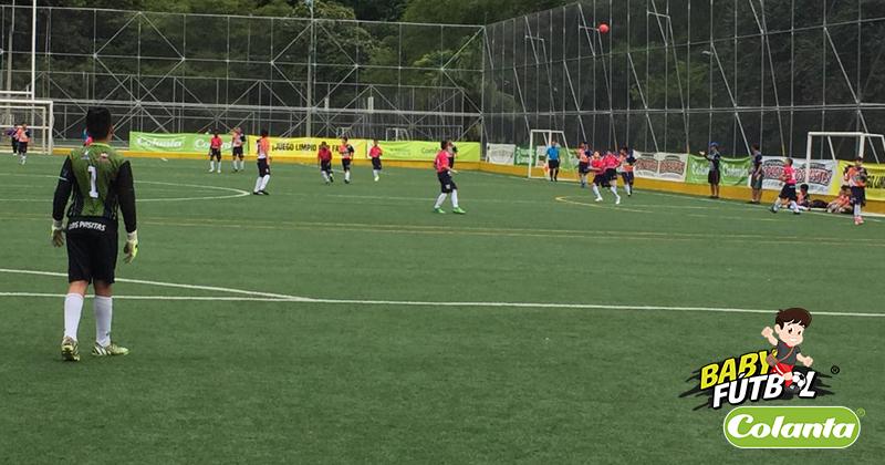 Fecha doble del Selectivo Medellín del Babyfútbol Colanta dejó tres equipos clasificados