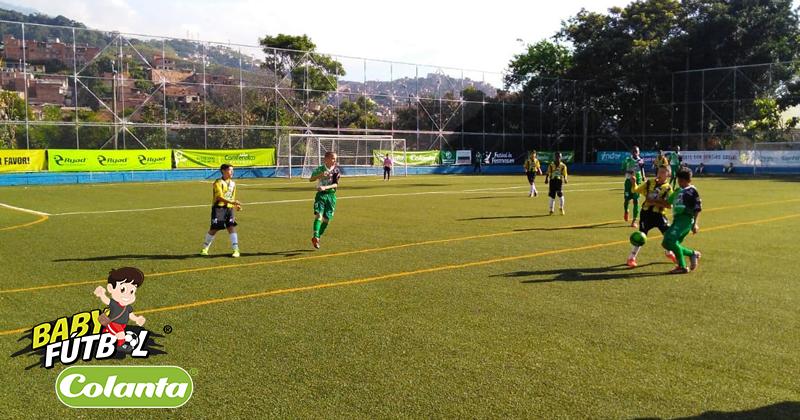 Fin de semana con mucho Babyfútbol en Medellín y el Valle de Aburrá