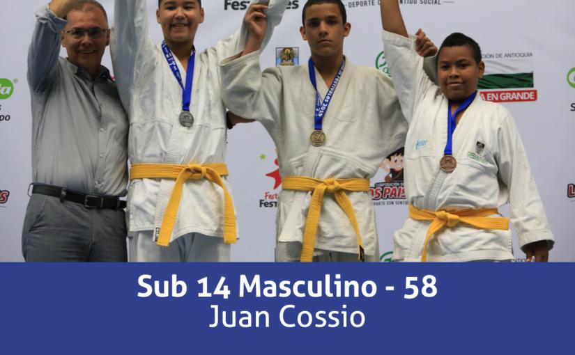 Campeones Festival de Judo Indeportes Gobernación de Antioquia 2019