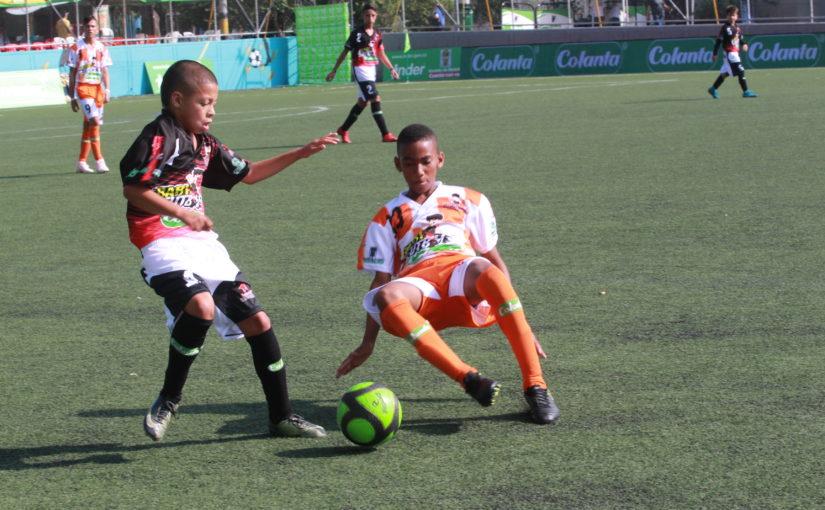 Programación de la fase preselevtivo Babyfútbol Colanta para Medellín