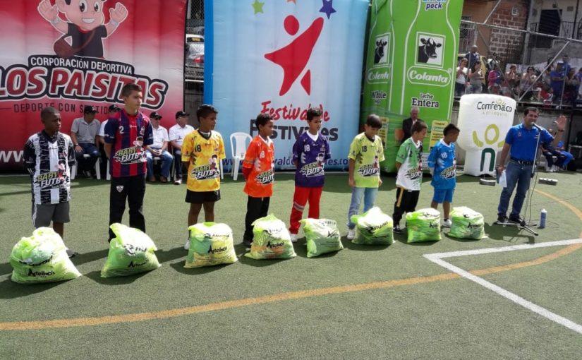 El barrio Antonio Nariño se prepara para recibir el Babyfútbol Colanta