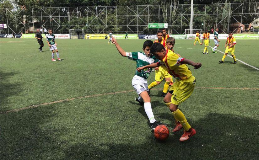 Finaliza el Zonal del Babyfútbol Cundinamarca.