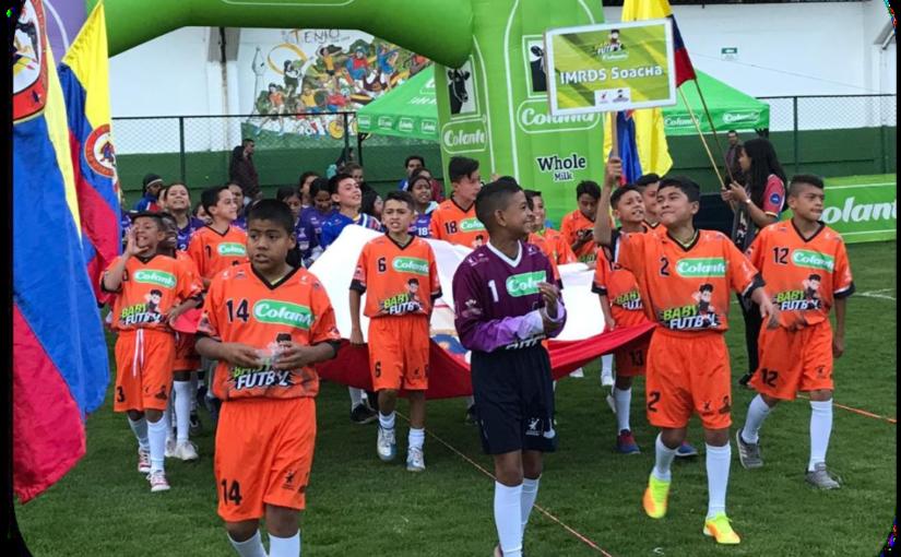Boletín estadístico Nº 1 del Zonal Babyfútbol Cundinamarca.