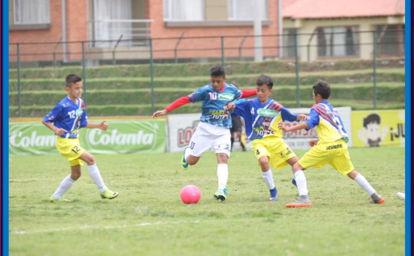 Boletín estadístico Nº 6 del Zonal Babyfútbol Cundinamarca.