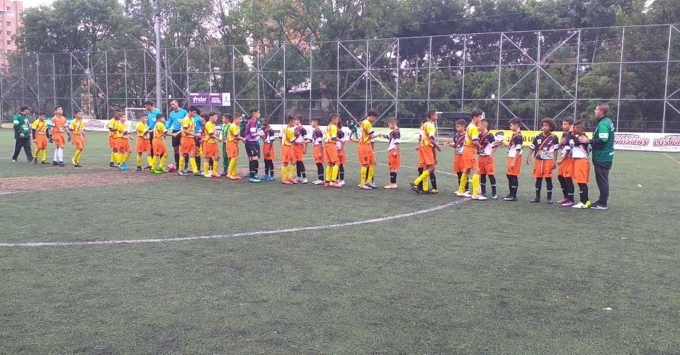 Boletín estadístico Nº 5 de la fase Selectiva Babyfútbol Medellín.