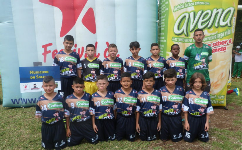 Boletín estadístico Nº 2 del Zonal Babyfútbol Colanta Suroeste de Antioquia.