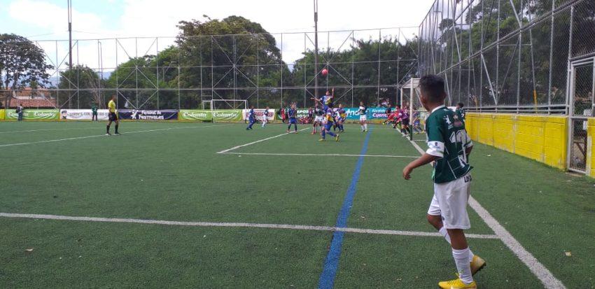 Boletín estadístico Nº 8 del Selectivo Babyfútbol Colanta Medellín.