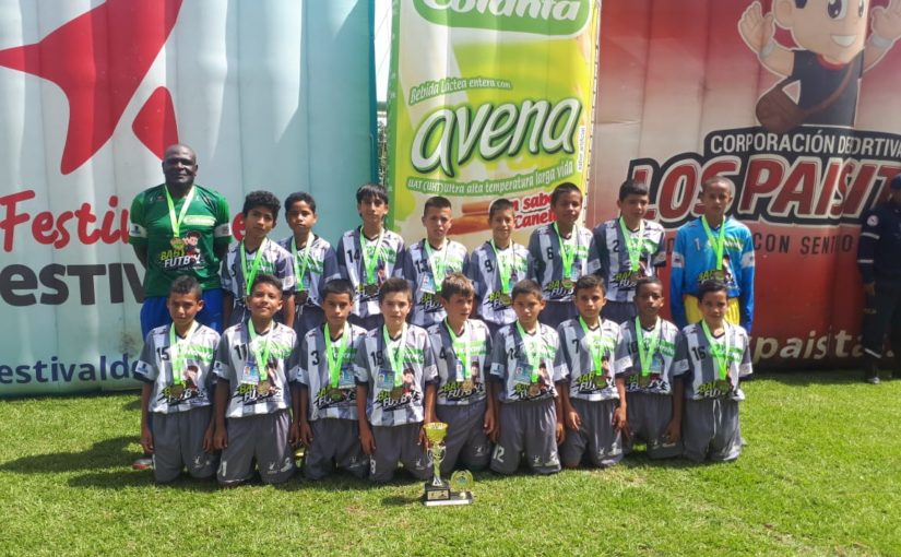 Boletín estadístico Nº 5 del Zonal Babyfútbol Colanta Suroeste de Antioquia